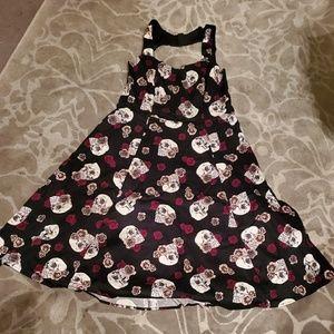 Skull & Roses Dress